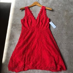 Red lace dress from Red dressBoutiqueNEW with tags